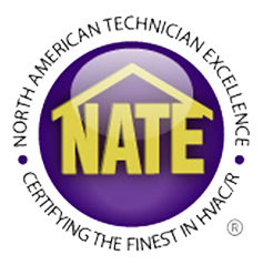 For your AC repair in Burnsville MN, trust a NATE certified contractor.